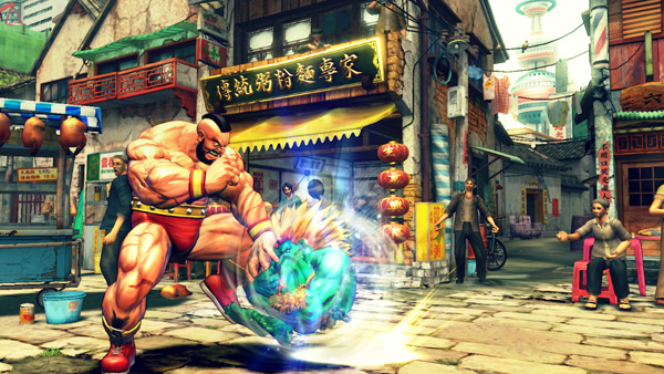 Street Fighter IV (2008) Awesome game and graphics, while not photo-realisitc, Capcom has created a vibrant and detailed anime style 3D brawler.