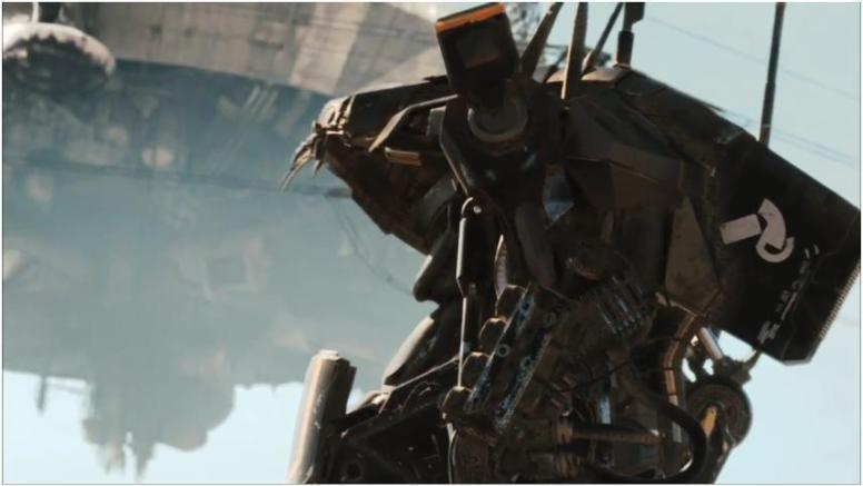 The alien mech-suit looked absolutely brilliant.